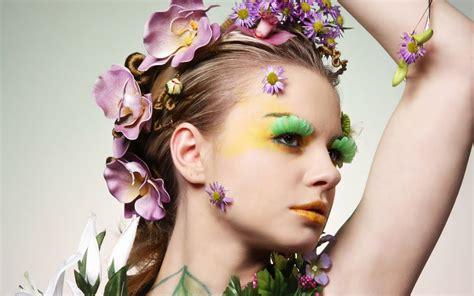 imagenes 4k mujeres mujer con adorno de flores hd 1600x1000 imagenes
