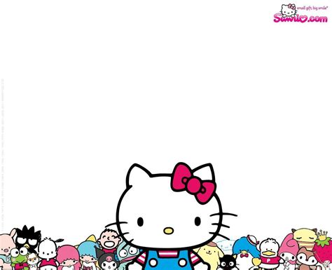 sanrio new year wallpaper hello screensavers wallpapers free wallpaper cave