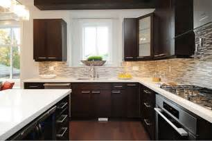 Kitchens With Dark Cabinets And Light Countertops by 22 Beautiful Kitchen Colors With Dark Cabinets Home
