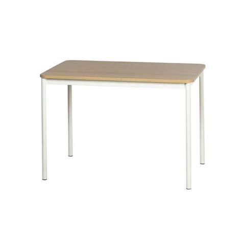 table cuisine rectangulaire table de cuisine rectangulaire en stratifi 233 basic 4