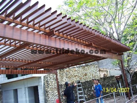 design kanopi cafe atap gazebo atap buka tutup atap teras atap aluminium