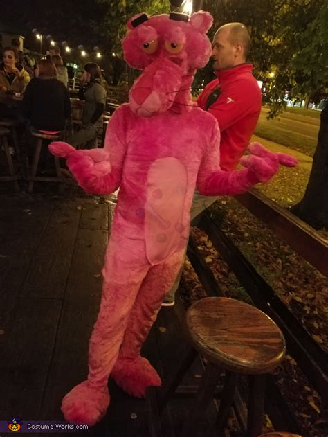 homemade pink panther costume