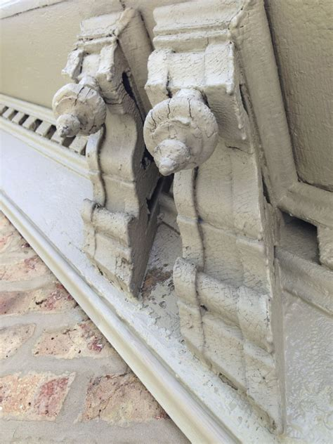 Building Corbels Restoring One Hundred Twenty Year Corbels On A Chicago