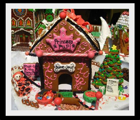 dog gingerbread house gingerbread dog house ideas pinterest the amazing