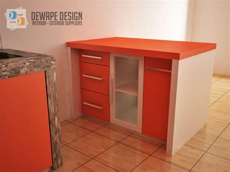 Multiplek Di Malang kitchen set warna orange putih malang kitchen set rumah