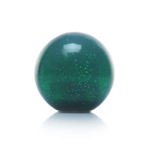 Green Shift Knob by Green Metal Flake Shift Knob Fits Hurst Aluminum Quarter