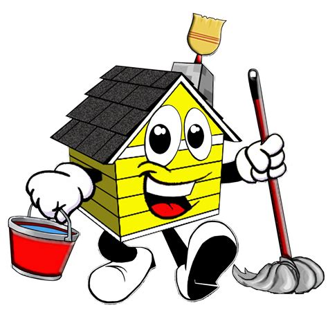 house cleaning house cleaning professional cartoon house cleaning logos