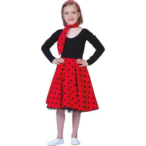 Rok Polka Pink rock n roll rok spaanse rok polka rood zwart