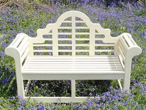painted wooden garden bench 1000 images about painted lutyens benches on pinterest