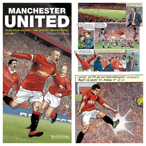 the official manchester united manchester united tales from history the official graphic novel volume 1 m a n c h e s t