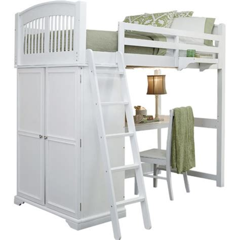 ne kids walnut street white locker loft bedroom set on ne kids walnut street loft bed finish white goodglance