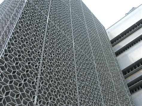 Aluminum Solar Screens - inside masdar city archdaily