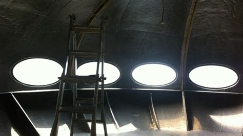 futuro house interior a replica of the flying saucer futuro house is for sale on gumtree domain