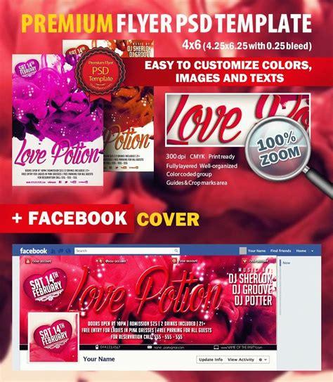 Love Potion Psd Flyer Template 5361 Styleflyers Flyer Template Psd 2