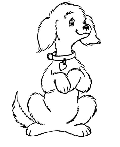 cute coloring pages of puppies free printable dog coloring pages for kids