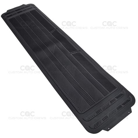 Black Pt 02 Top black 4pc rubber floor mat car suv heavy duty all season