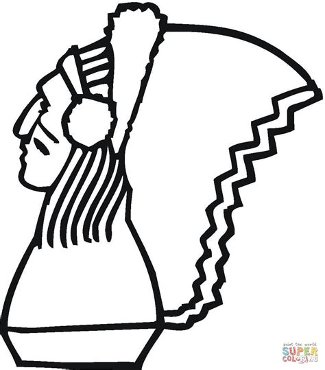 indian headband coloring page indian headdress coloring page coloring home