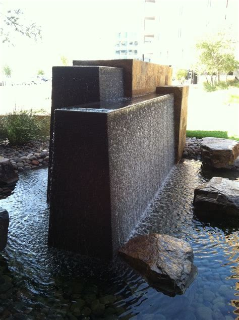 modern water features 211 best images about water feature on pinterest