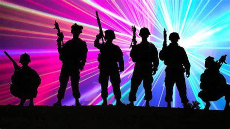 Arena Lights April 4 Students Host Laser Tag Fundraiser For Injured