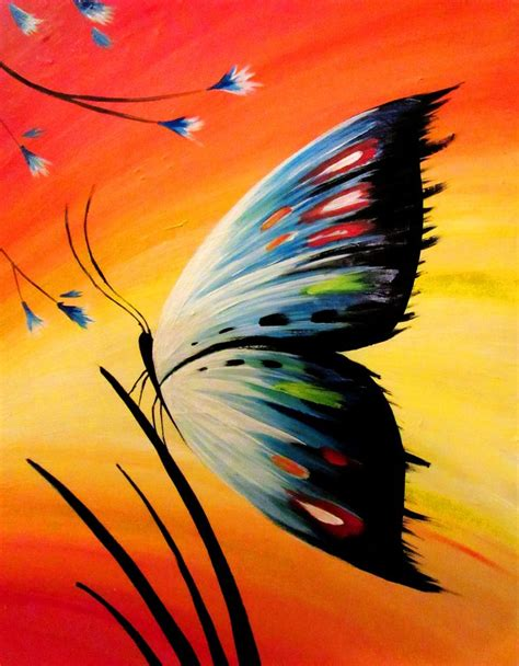 day acrylic painting ideas best 25 canvas paintings ideas on