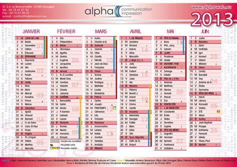 Calendrier Imprimerie Imprimer Ses Calendriers 2013 Alpha Imprimerie