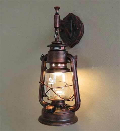 fashion antique wall lights wrought iron vintage lantern