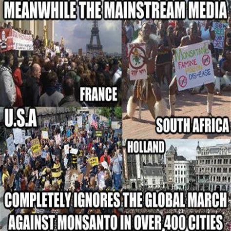 Monsanto Meme - cynthiaparkhill monsanto marches not really ignored by media
