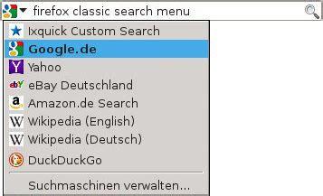 firefox themes einstellen howto klassisches suchmen 252 im firefox einstellen