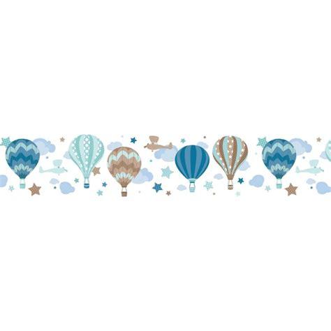 bordure kinderzimmer ballon kinder bord 252 re hei 223 luftballons mint taupe selbstklebend