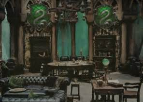 Harry Potter Themed Bedroom common room of the slytherin students audio atmosphere