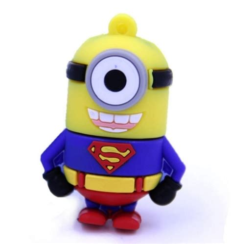 Usb Flashdrive Minion 4gb 4gb Minions Superman Usb 2 0 Memory Stick Flash Drive 4gb
