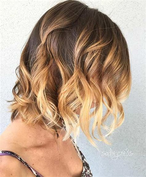 Trendy Haircuts Ideas Strawberry Bronde Balayage Bob By Kellymassiashair 31 Cool Balayage Ideas For Hair Page 3 Of 3 Stayglam