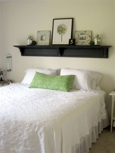 shelf headboard ideas 25 great ideas about headboard shelves on pinterest