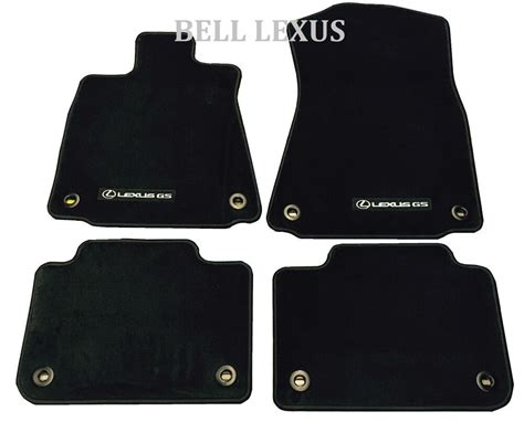 Lexus Oem Floor Mats - new lexus oem factory carpet floor mat set 2013 2017 gs350