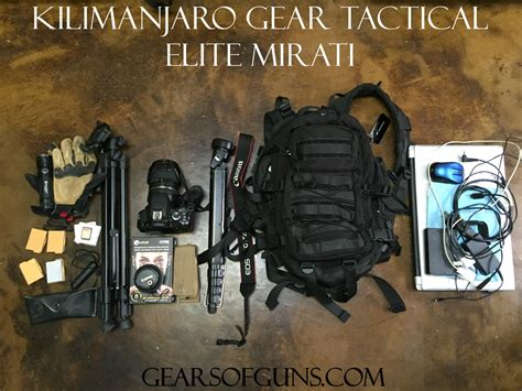 elite tactical gear kilimanjaro gear review pt 2 the bags gears of guns