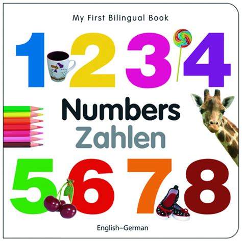 my bilingual bookã ã and edition books my bilingual book numbers german