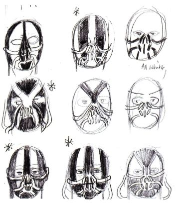 Topeng Batman Justice League Mask tdkr des photos backstage et illustrations dcplanet fr