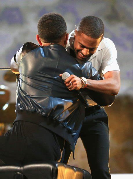 big sean john legend big sean joined him on stage to perform one man can