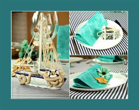 Tischdeko Hochzeit Maritim by Tischdeko Geburtstag Maritim Execid