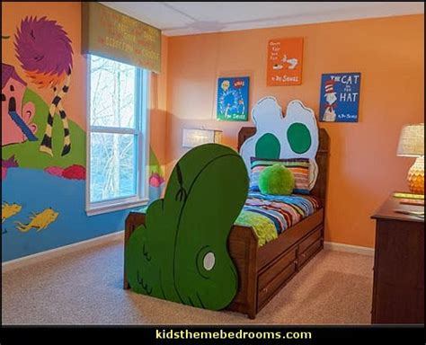 dr seuss bedroom ideas decorating theme bedrooms maries manor cat in the hat