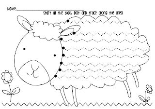 valley pattern worksheet frog spot spring lamb handwriting freebie