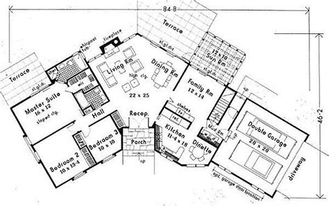 Angled Ranch House Plans by Lovely Angled Ranch House Plans New Home Plans Design