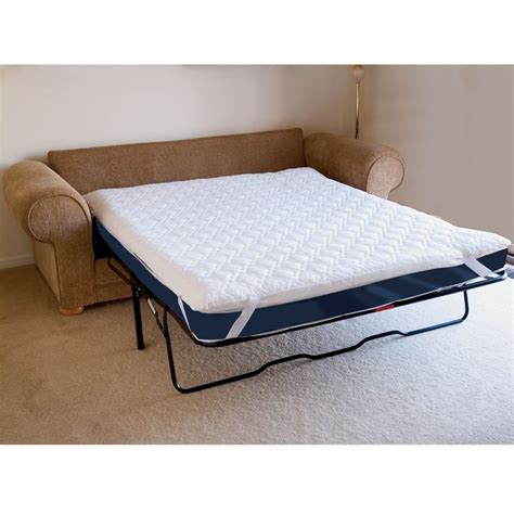 mattress pad for sleeper sofa collection in sofa bed mattress pad memory foam sleeper thesofa