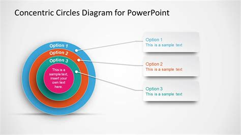 concentric circles powerpoint template concentric circles diagram template for powerpoint