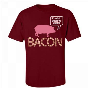 talking about bacon talking bacon pig