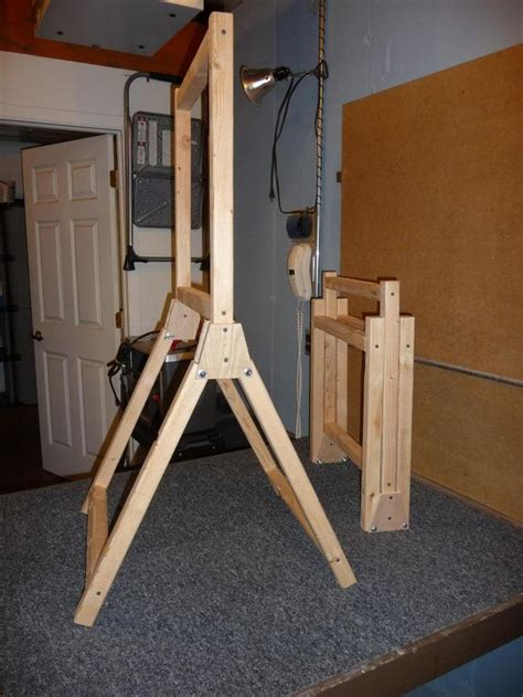 how to build a standing portable target stand 1911forum shooting bench target ranges and screens