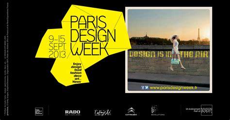 design week editor style and substance paris design week