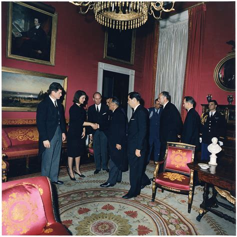 Jackie Kennedy White House File Post Funeral Reception Senator Edward M Kennedy