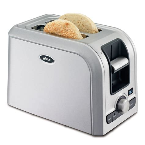 Oster Toaster Oster 174 2 Slice Digital Countdown Toaster Brushed