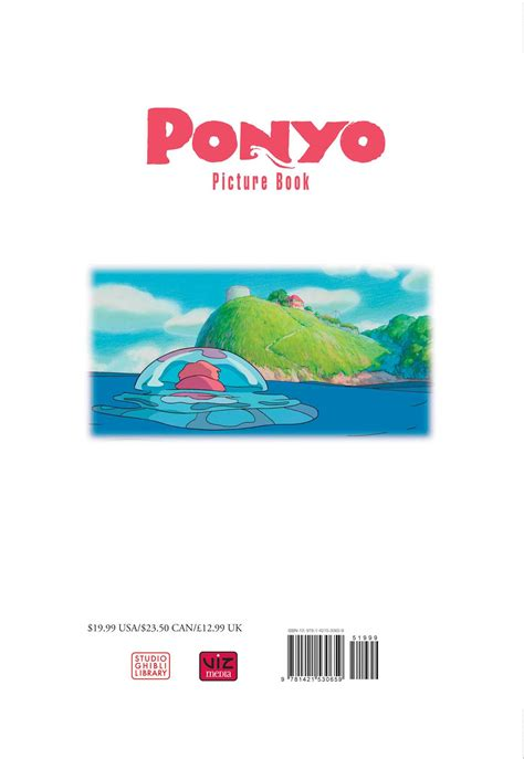 Ponyo Picture Book Book By Hayao Miyazaki Official